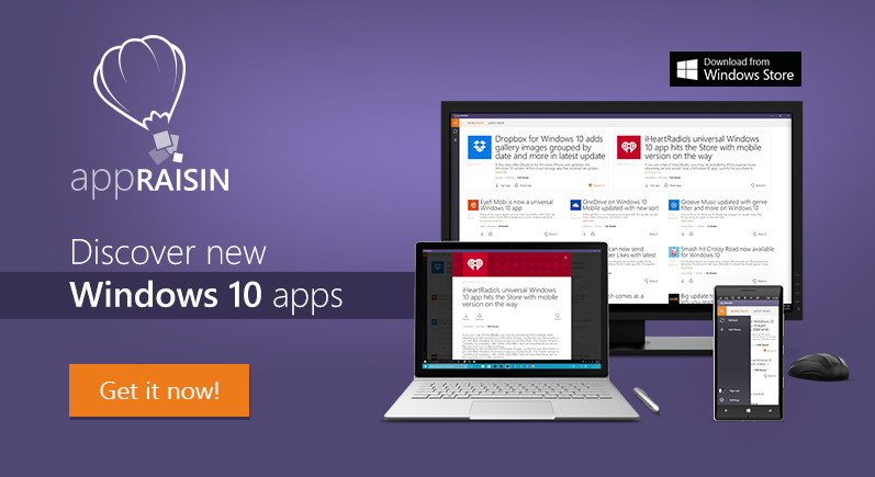 AppRaisin | Discover best new Windows 10 apps and games